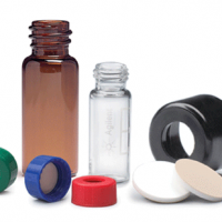 CrossLab Screw Caps with Septa for Wide Opening (9 mm) Vials